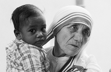 'The most terrible poverty is loneliness, and the feeling of being unloved.' - Mother Teresa